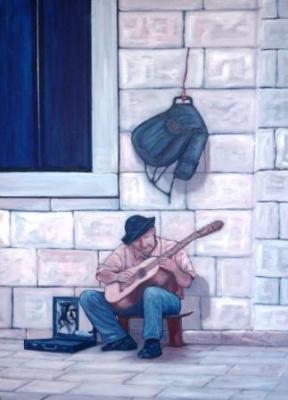 El guitarrista de Trogir